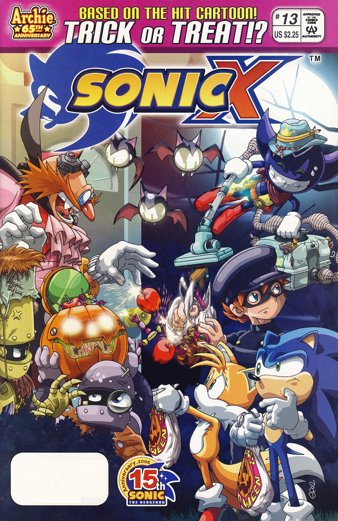 Archie Sonic X Issue 13