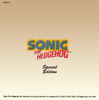 Sonic's Shoes Blues - back cover