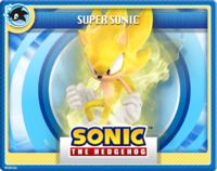 Modern Super Sonic Online Card