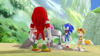 SB S1E13 Team Sonic peaks