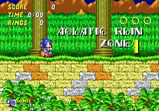 Aquatic Ruin Zone