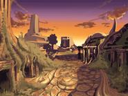 Levitated Ruin koncept 3