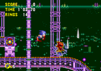 The Ring Spark field in Sonic the Hedgehog CD.