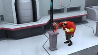 S1E44 Eggman red saw device