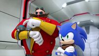SB S1E26 Eggman Sonic lair