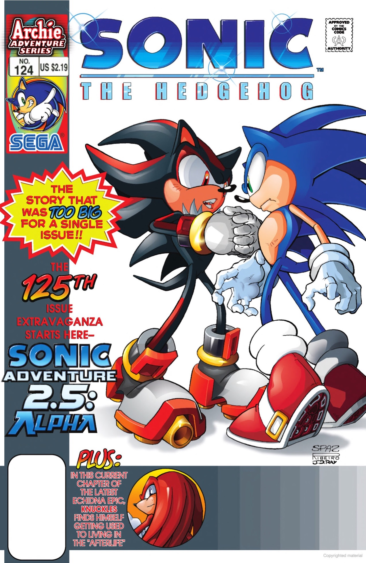 Archie Sonic the Hedgehog Issue 124