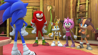 SB S1E39 Team Sonic Amy's house 2