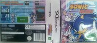 SonicRush DS AU Box