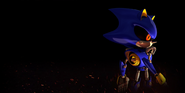 Sonic Forces Metal Sonic background