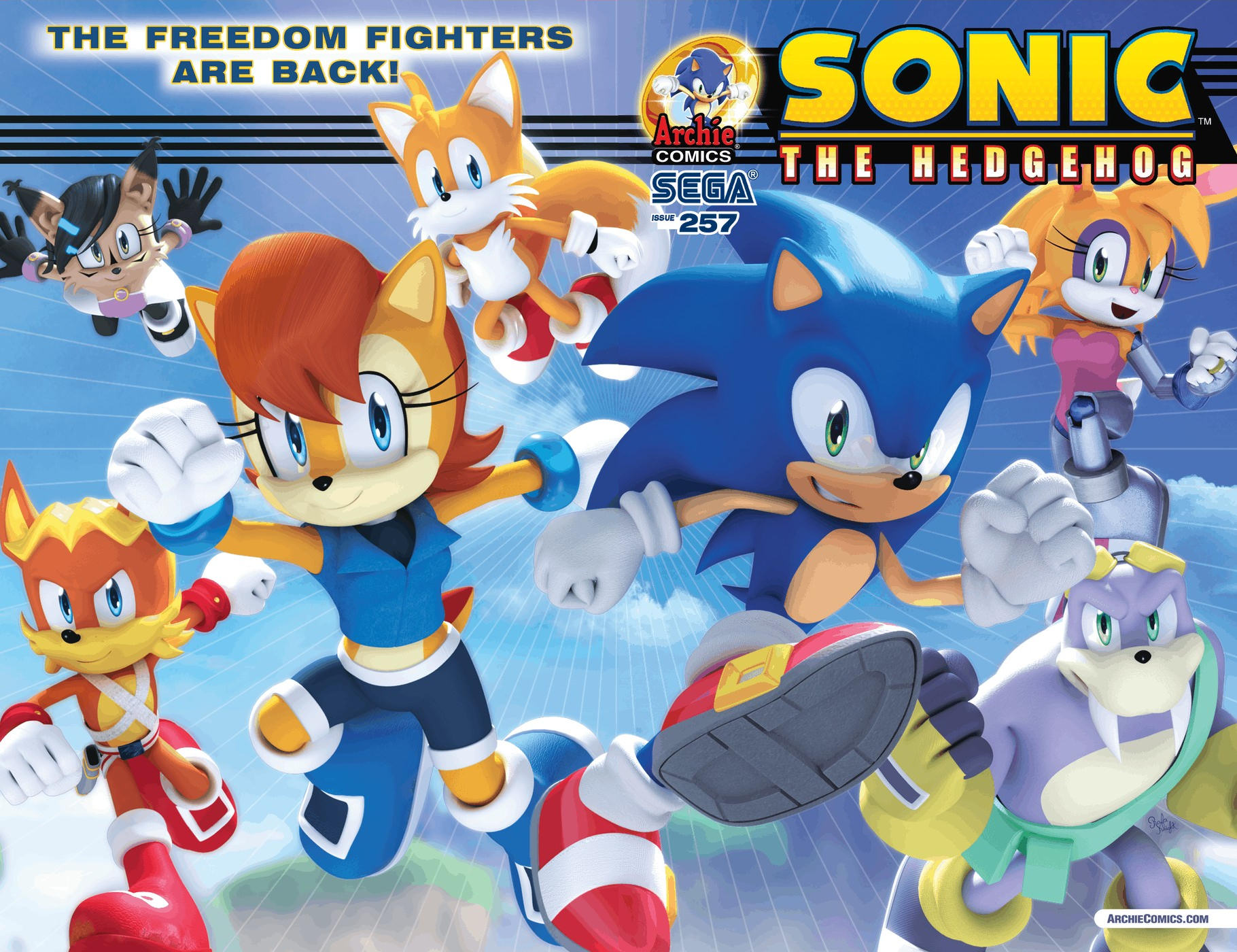 Archie Sonic the Hedgehog Issue 257