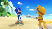 SB S1E19 Sonic Tails no problem