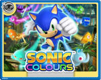 Sonic Colors Online Card
