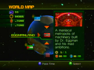 Sonic Unleashed World Map 9