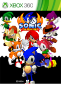 Sonic the Fighters XONE box art