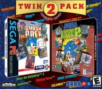 Twin Pack Sega Smash Pack 1&2