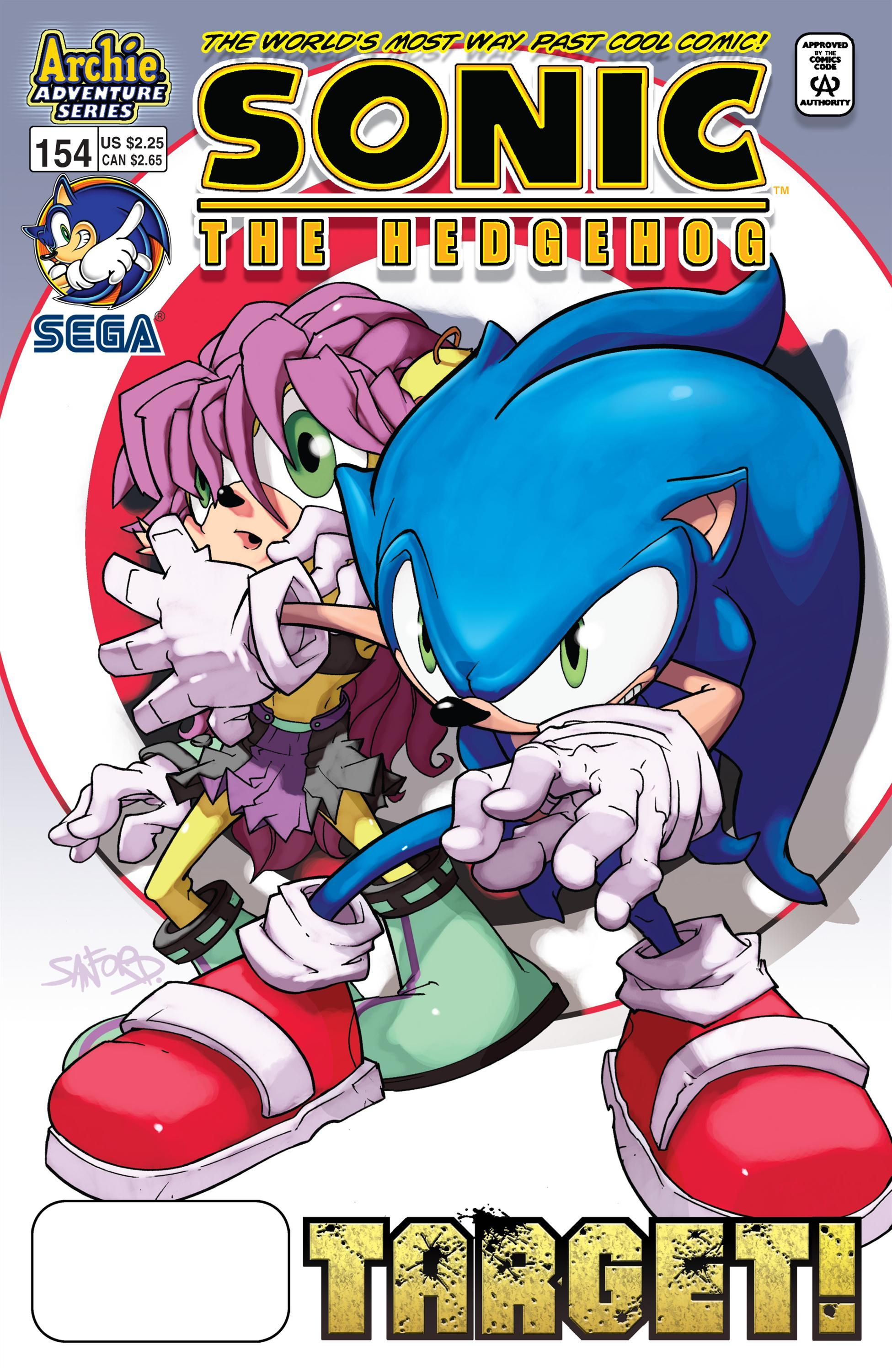 Archie Sonic the Hedgehog Issue 154