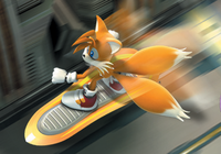 Sonic Riders 3D Tails