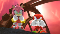 Amy & Knuckles (Sonic Generations)
