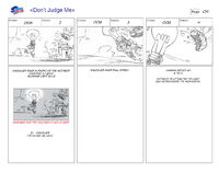 Dont Judge Me storyboard 2