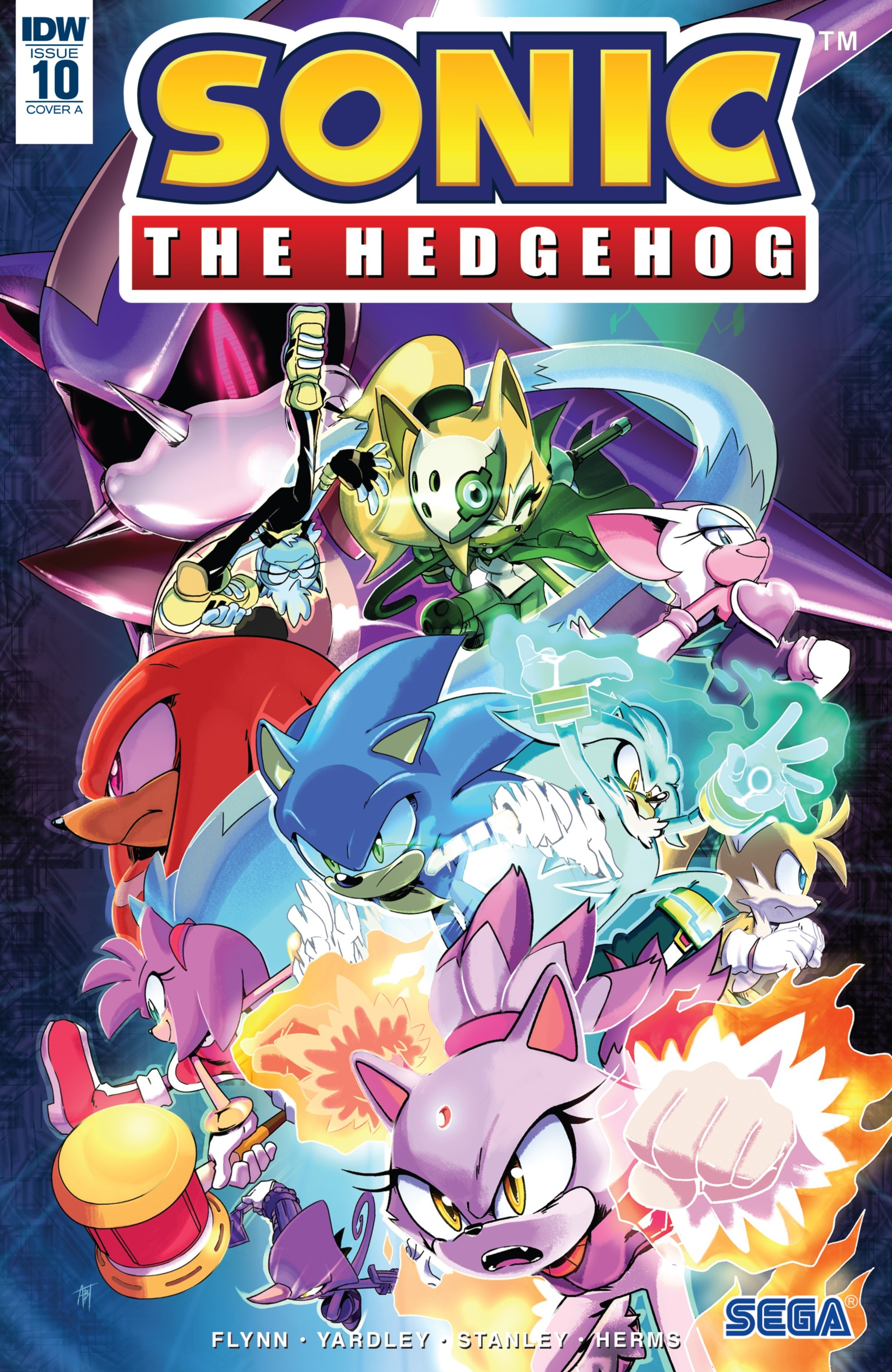 IDW Sonic the Hedgehog Issue 10
