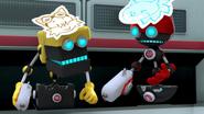 SB S1E13 Cubot Orbot laser tag