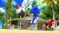 SB S1E19 Eggman defeat Team Sonic