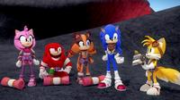 SB S1E21 Team Sonic lair outside