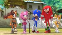 SB S1E25 Team Sonic walk
