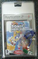 SonicHeroes PS2 EU Platinum Promo