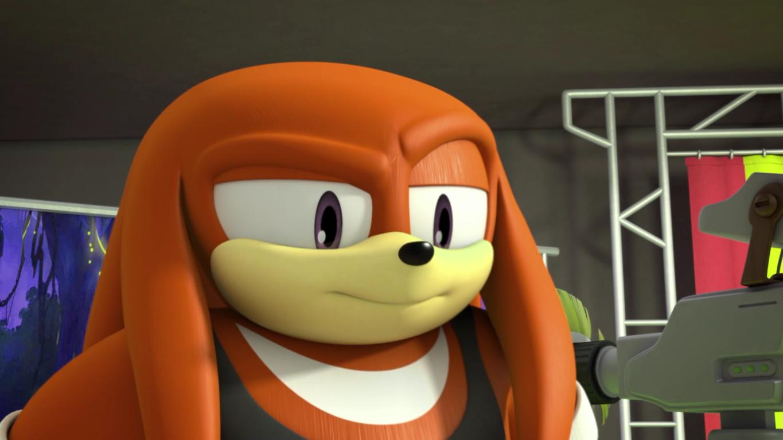 Knuckles the Echidna (alternate dimension) (Sonic Boom)