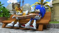 SB S1E17 Tails Sonic sandwich