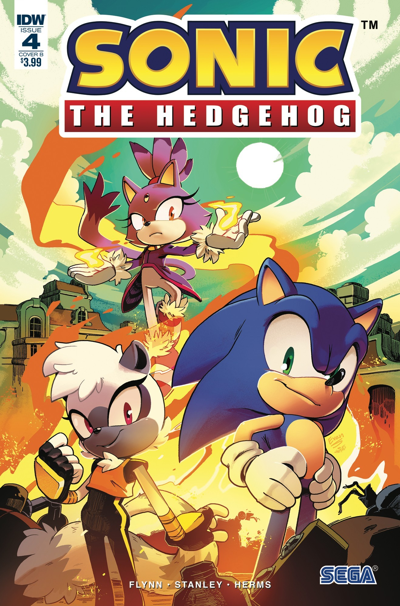 IDW Sonic the Hedgehog Issue 4