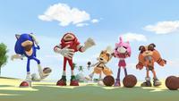 SB S1E11 Team Sonic laughing