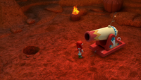 SB S1E13 Knuckles crater cannon