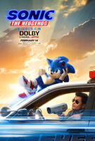 Sonic 2020 Dolby Poster