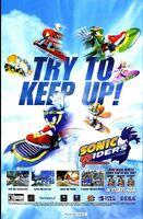 Sonic Riders magazine ad