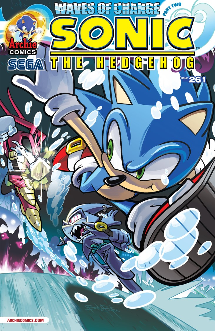 Archie Sonic the Hedgehog Issue 261