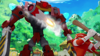 S1E41 Knuckles deflect missile