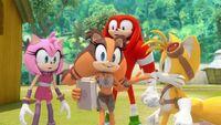 SB S1E21 Team Sonic thesaurus