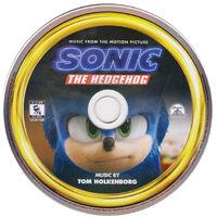 SonicMovieOST CDDisc