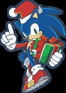 Christmas Sonic 1