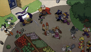 Hobidon Sonic comic