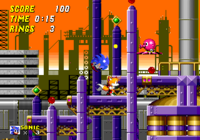 It looks like Tails is moving to the other way