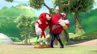 SB S1E10 Knuckles vs Eggman 3