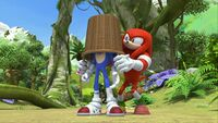 SB S1E44 Sonic Knuckles basket