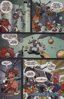 Sonic X issue 4 page 5
