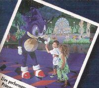 Sonic en el escenario
