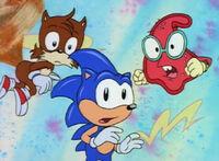 Splorg and Sonic