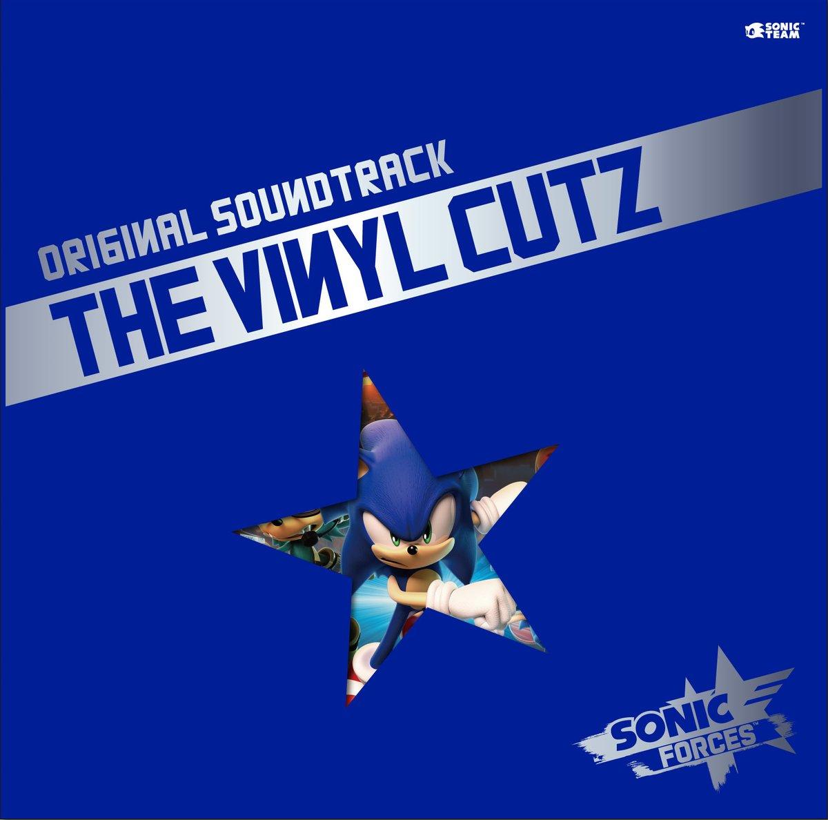 Sonic Forces Original Soundtrack The Vinyl Cutz