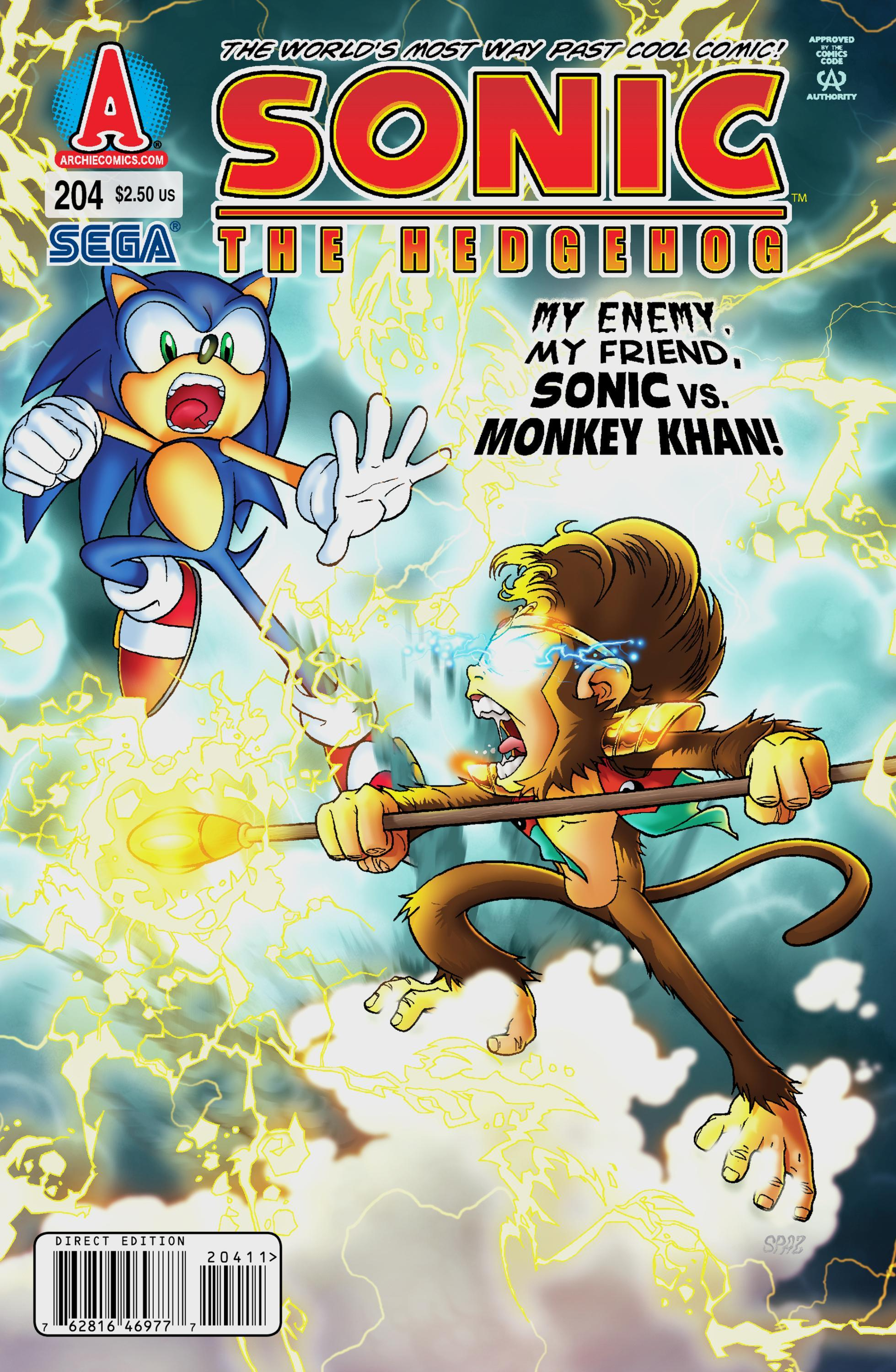 Archie Sonic the Hedgehog Issue 204